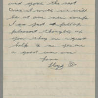 1942-10-15 Lloyd Davis to Laura Davis Page 2