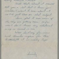 1945-09-23 R.J. Rohrer to Dave Elder Page 2