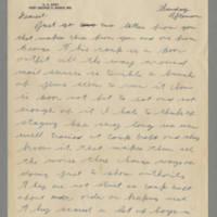 1942-10-25 Lloyd Davis to Laura Davis Page 1