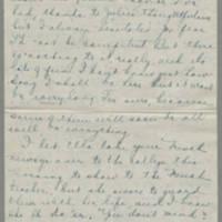 Conger Reynolds correspondence, December 1918