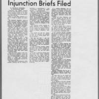 "1970-08-28 Daily Iowan Article: """"Argue Freedom of Speech-- Injunction Briefs Filed"""""