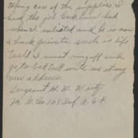1918-08-21 Harvey Wertz to Mr. L.A. Wertz Page 5