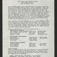 "1970-06-06 Newsletter: """"LULAC Glances"""" Page 1"