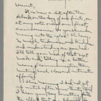 Laura Davis letters to her husband Lloyd Davis, February 1942