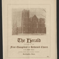 "1951-11-01 Pamphlet: ""The Herald"" Page 1"