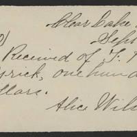 1894-09-05 Receipt