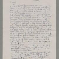 1942-12-13 Laura Davis to Lloyd Davis Page 1