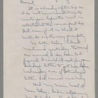 1943-01-12 Laura Davis to Lloyd Davis Page 1