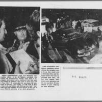 "1971-05-12 Iowa City Press-Citizen Photos: """"Press Conference"""" """"Cars Searched"""""