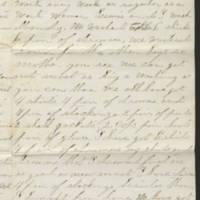 1862-02-04 Charles A. Gates to Mr. & Mrs. Arad Gates Page 3