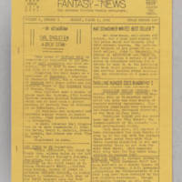Fantasy-News, v. 6, issue 9, whole no. 140, March 2, 1941
