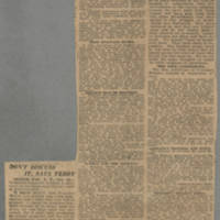 """1918-10-14 Des Moines Capital Clipping: """"""""Terms Upon Which Uncle Sam Will Make Peace With Huns"""""""" Page 1"""