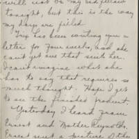 1918-03-13 Daphne Reynolds to Conger Reynolds Page 4