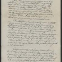 1945-07-30 Bill Barth to Dave Elder Page 1