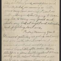 1918-01-15 Harvey Wertz to Mr. L.A. Wertz Page 2