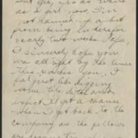 1918-01-15 Thomas Messenger to Mr. & Mrs. N.H. Messenger Page 2