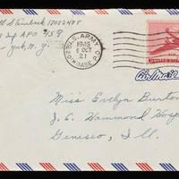 1945-10-03 Carroll Steinbeck to Evelyn Burton - Envelope