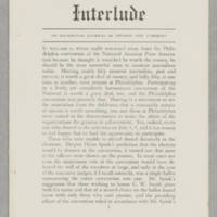 Interlude, v. 1, issue 4, July 1940