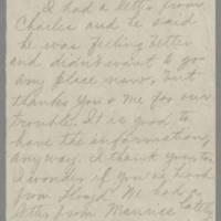 1943-03-26 Aunt Bess to Laura Frances Davis Page 1