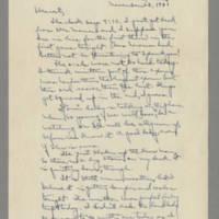 1941-11-28 Laura Davis to Lloyd Davis Page 1