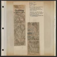 1971-08-03 Daily Iowan Editorial: 'Grokking'
