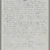 1944-05-16 Helen Angell to Mrs. Bess Peebles Page 2
