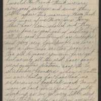 1918-03-05 Harvey Wertz to Mr. L.A. Wertz Page 3
