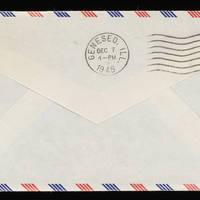 1945-11-15 Carroll Steinbeck to Evelyn Burton - Envelope back