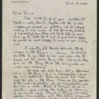 1944-12-14 LeRoy G. Pratt to Dave Elder Page 1