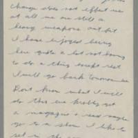 1942-09-19 Lloyd Davis to Laura Davis Page 2
