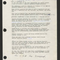 "1973-07-12 Ernest Rodriguez transcript for """"Viewpoint"""" Page 1"