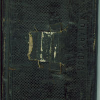 George M. Shearer diary, 1863