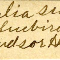 Clinton Mellen Jones, egg card # 680