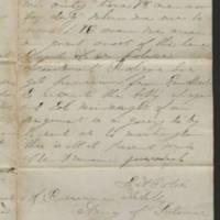1863-08-02 Charles A. Gates to Mr. Arad Gates Page 3