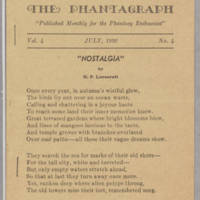 Phantagraph, v. 4, issue 4, July 1936