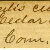 Clinton Mellen Jones, egg card # 645
