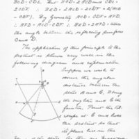 Eccentricity of the Sextant by Frederic Furbish, 1893, Page 35