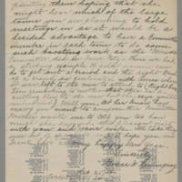 1917-12-25 Grace W. Hemingway to Mr. Frank Warner Page 2