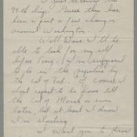 1946-01-24 Capt. Bill Perdock to Eave Elder Page 1