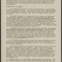 1947-10-25 Report on Burlington Atomic Energy Week Page 1