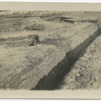 Cover Trench Dug in R.O.T.C.