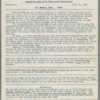 1963-07-31 NAACP Newsletter, Fort Madison Branch, Page 1
