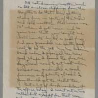 1943-01-19 Laura Davis to Lloyd Davis Page 1