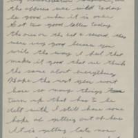 1943-01-06 Lloyd Davis to Laura Davis Page 1