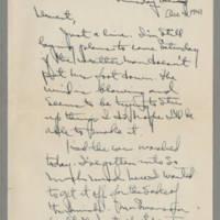 1941-12-04 Laura Davis to Lloyd Davis Page 1