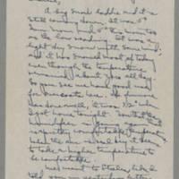 1943-01-18 Laura Davis to Lloyd Davis Page 1