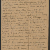 Undated 1917 letter Page 1