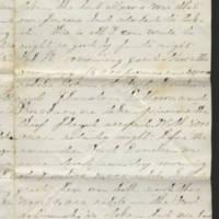 1862-02-17 Charles A. Gates to Mr. & Mrs. Arad Gates Page 3