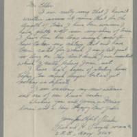 1945-12-18 Richard H. Pringle to Dave Elder