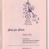 Code for Coeds 1960-1961